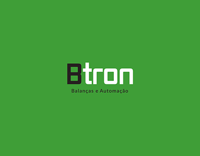 Btron Balanças Design de Logo