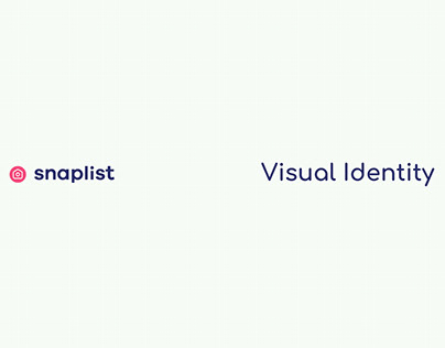 Snaplist - Visual Identity