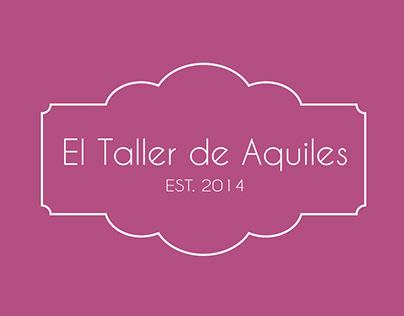 Branding EL TALLER DE AQUILES Identidad visual