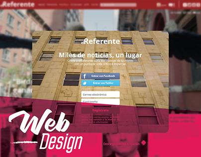 Web - El referente / Mirasol  C Fotografía