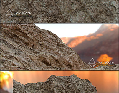Mountain Modeling + PBR Material