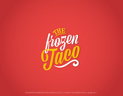 The Frozen Taco Logo for Innovate Marketing Solutions