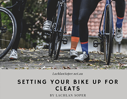 Setting Your Bike Up For Cleats