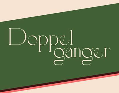 DOPPELGANGER - FREE FONT