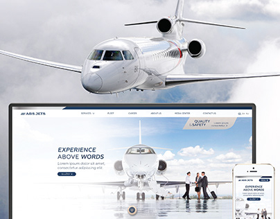 Re-branding a business jet operator