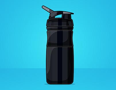 Blender Bottle illustration