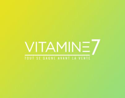 Vitamine 7 -Identité visuelle -Webdesign