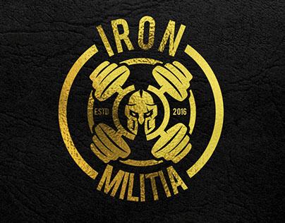 Logo for a crossfit gym