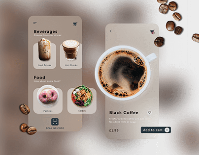 Coffee Takeaway UI