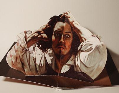 Pop-Up Le Désespére, Gustave Courbet
