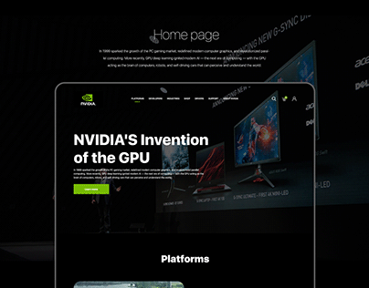 Nvidia Geforce redesign concept