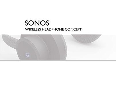 Sonos - Wireless Headphone Concept