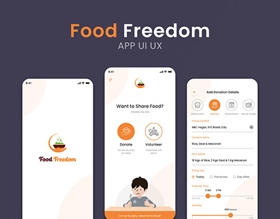 Food Freedom App UI