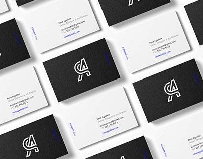 Rene Agudelo, New brand identity.