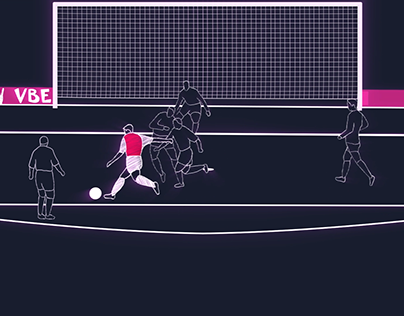 Frame by frame soccer animation