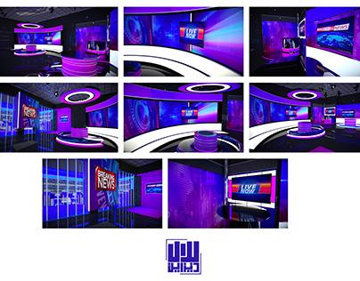virtual studio sets