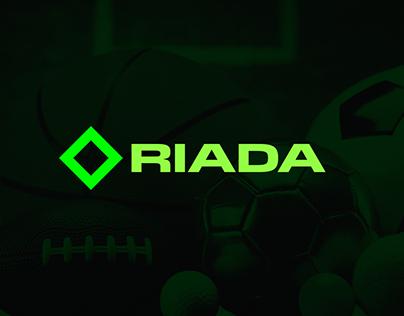 Logo presentation for Riada sport