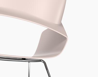 "Plastic chair ""Aston"""