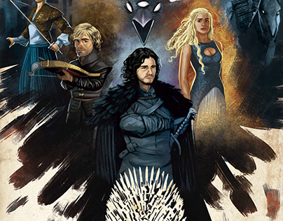 Poster Games Of Thrones