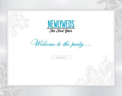 NBC newlyweds microsite