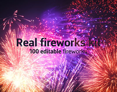 Real Fireworks Kit - After Effects Template