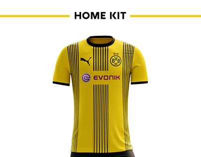 604dc85bc Borussia Dortmund Football Kit 17/18.
