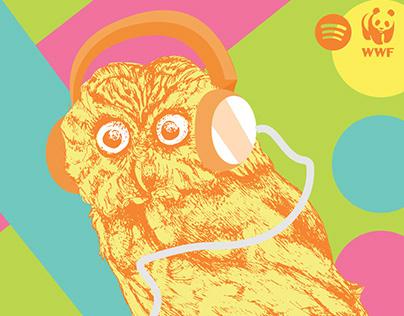 Spotify & World Wildlife Fund: Non-Profit Ad Campaign