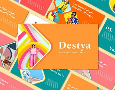 Destya - PowerPoint Template