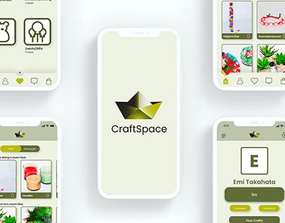 APP UI DESIGN   CraftSpace