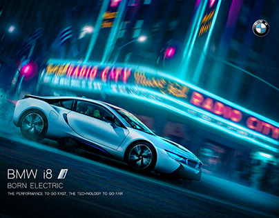 BMW i8 AD Concept
