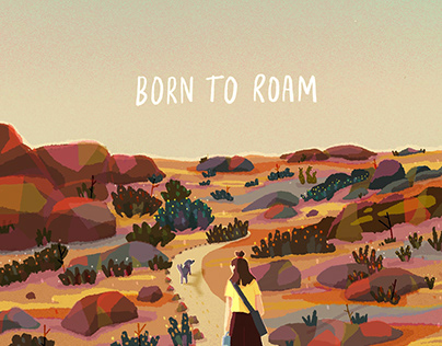 far from home... born to roam