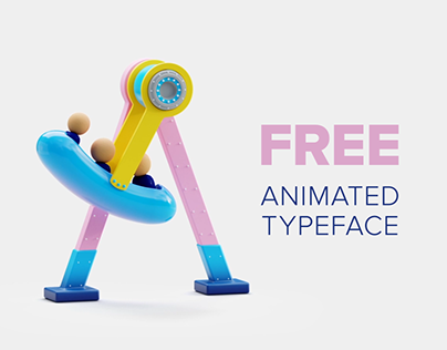 Animated 3D Typeface(FREE) Students' Graduation Project