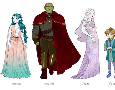 WINTER 2020 Illustrations & Character Design