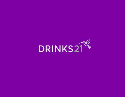 Drinks21 Brand Identity