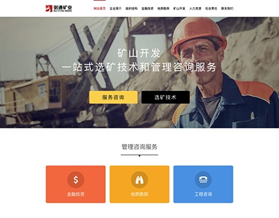 Design template for a mining corporation