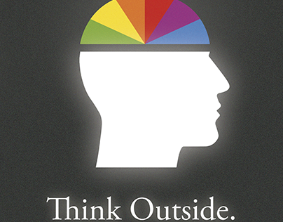 Think Outside Poster 3rd place UFV