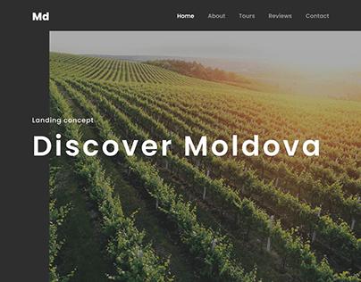 Moldova Landing page