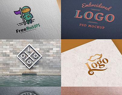 Free Logo Mockups 2020