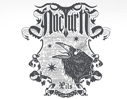 NocturN - Craft Beer Label