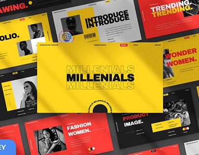 Millenials Presentation Template