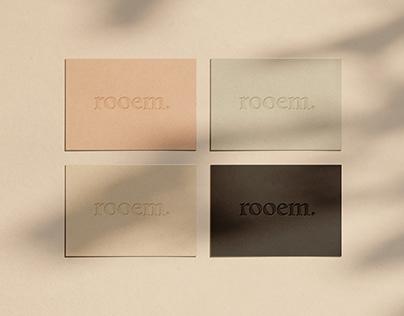 rooem. | Branding