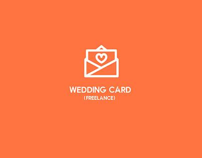 Freelance I Wedding Card