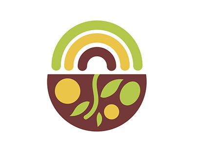Community Farm Share   logo and visual identiy
