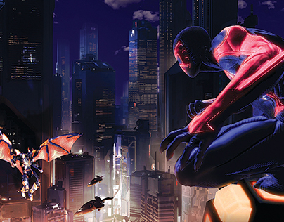 Fotomontaje Spiderman 2099