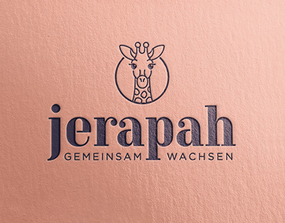 Jerapah Logo Design