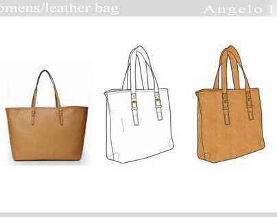 Womans / accessories / leather bag