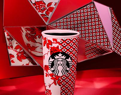 Starbucks x DVF