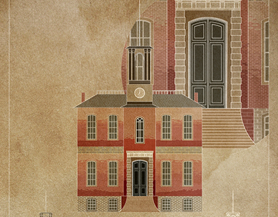 Providence Old State House [Digital Drawings]