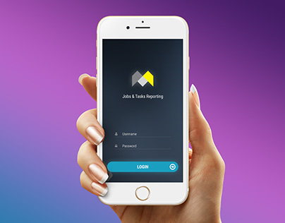 Jobs & Tasks Reporting Mobile App