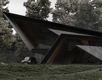 Blackbird Cabin by Stipfold / Beka Pkhakadze